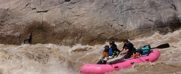 FineLookinBoats on Westwater Canyon